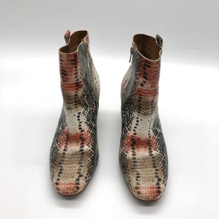 Primary Photo - BRAND: KORKS STYLE: BOOTS ANKLE COLOR: SNAKESKIN PRINT SIZE: 8.5 SKU: 262-26241-47679