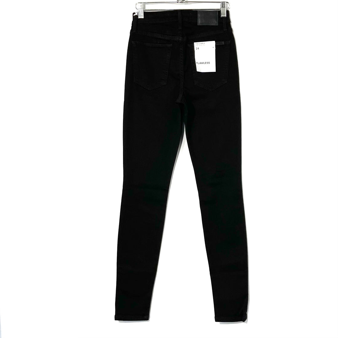 Photo #1 - BRAND: JOES JEANS <BR>STYLE: JEANS <BR>COLOR: BLACK DENIM<BR>SIZE: 2/24<BR>SKU: 262-26275-74025