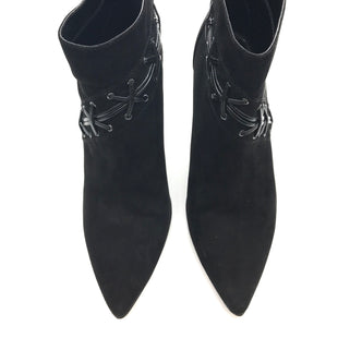 Primary Photo - BRAND: GUESS STYLE: BOOTS ANKLE COLOR: BLACK SIZE: 9 SKU: 262-26275-61700SOME GENTLE SCUFFING/SLIGHT WEAR ON EDGES AND NEAR BOTTOM, PRICED TO REFLECT THIS