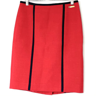 Primary Photo - BRAND: TORY BURCH STYLE: SKIRT COLOR: RED BLUESIZE: XS /0SKU: 262-26275-77655