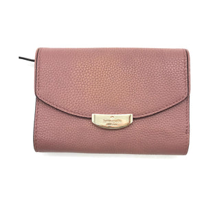Primary Photo - BRAND: KATE SPADE STYLE: WALLET COLOR: DUSTY PINK SIZE: SMALL SKU: 262-26275-73091GENTLE LEATHER DISCOLORATION • AS IS