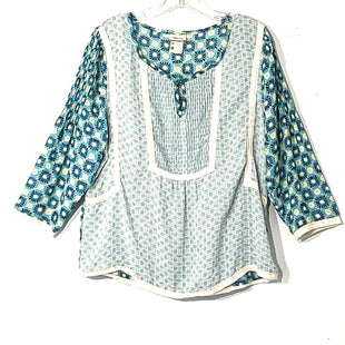 Primary Photo - BRAND: MATILDA JANE STYLE: TOP LONG SLEEVE COLOR: BLUE WHITE SIZE: L SKU: 262-26275-60992