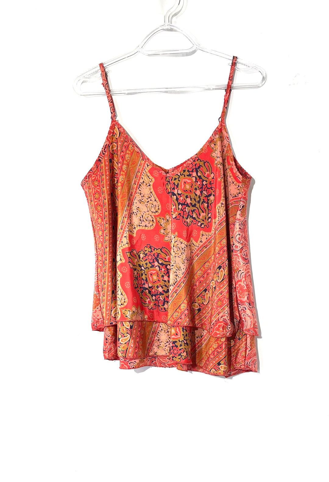Primary Photo - BRAND:    CLOTHES MENTOR <BR>STYLE: TOP SLEEVELESS <BR>COLOR: PAISLEY <BR>SIZE: S <BR>OTHER INFO: RAGA - <BR>SKU: 262-26275-73427