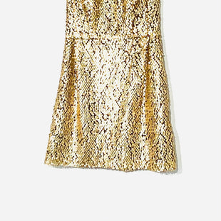 Primary Photo - BRAND: NANETTE LEPORE STYLE: DRESS SHORT SLEEVELESS COLOR: GOLD SEQUIN SIZE: XS /2SKU: 262-26275-69802