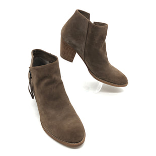 Primary Photo - BRAND: SAM EDELMAN STYLE: BOOTS ANKLE COLOR: TAN SIZE: 10 SKU: 262-26275-74666GENTLE WEAR - AS IS