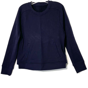 Primary Photo - BRAND: LULULEMON STYLE: ATHLETIC TOP COLOR: NAVY SIZE: 12 SKU: 262-26275-74737SWEATSHIRT STYLE