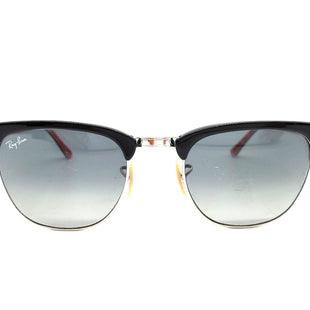Primary Photo - BRAND: RAY BAN STYLE: SUNGLASSES COLOR: BLACK RED AS IS SCRATCHES SKU: 262-26275-63735DESIGNER ITEM FINAL SALE