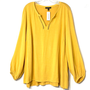 Primary Photo - BRAND: LANE BRYANT STYLE: TOP LONG SLEEVE COLOR: YELLOW SIZE: 1X /18SKU: 262-26241-44357