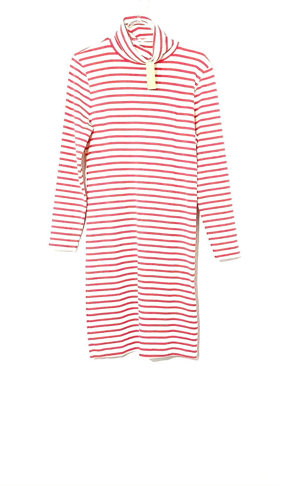 Primary Photo - BRAND: J CREW <BR>STYLE: DRESS SHORT LONG SLEEVE <BR>COLOR: STRIPED RED AND WHITE<BR>SIZE: M <BR>SKU: 262-26275-71997