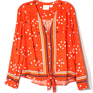 Primary Photo - BRAND: MAEVE ANTHROPOLOGIE STYLE: BLOUSE COLOR: RED SIZE: M /10SKU: 262-26211-142984