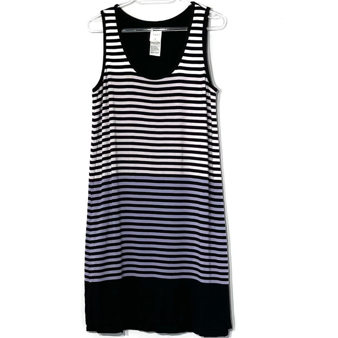 Primary Photo - BRAND: SOMA <BR>STYLE: DRESS SHORT SLEEVELESS <BR>COLOR: STRIPED <BR>SIZE: M <BR>SKU: 262-26211-141858<BR>5% SPANDEX <BR>REVERSIBLE SEE PHOTO