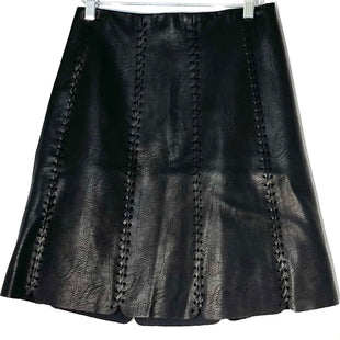 Primary Photo - BRAND: CLUB MONACO STYLE: SKIRT COLOR: BLACK SIZE: S /4SKU: 262-26241-46924FAUX LEATHER