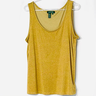 Primary Photo - BRAND: RALPH LAUREN STYLE: TANK BASIC CAMI COLOR: GOLD SIZE: 1X SKU: 262-26275-72402