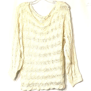 Primary Photo - BRAND: MOTH ANTHROPOLOGIE STYLE: SWEATER LIGHTWEIGHT COLOR: CREAM SIZE: XL SKU: 262-26241-45833