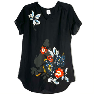 Primary Photo - BRAND: CABI STYLE: TOP SHORT SLEEVE COLOR: BLACK SIZE: S SKU: 262-26241-46901