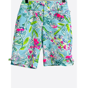 "Primary Photo - BRAND: LILLY PULITZER STYLE: SHORTS COLOR: NEON SIZE: 2 SKU: 262-26211-146305LUXLETICINSEAM 10""DESIGNER FINAL"