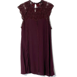 Primary Photo - BRAND:    4SIZNNAISTYLE: DRESS SHORT SLEEVELESS COLOR: BURGUNDY SIZE: M OTHER INFO: 4SIZNNAI - SKU: 262-26211-142001