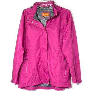 Primary Photo - BRAND: MERRELL STYLE: JACKET OUTDOOR COLOR: FUSCHIASIZE: L SKU: 262-262101-2683NYLON