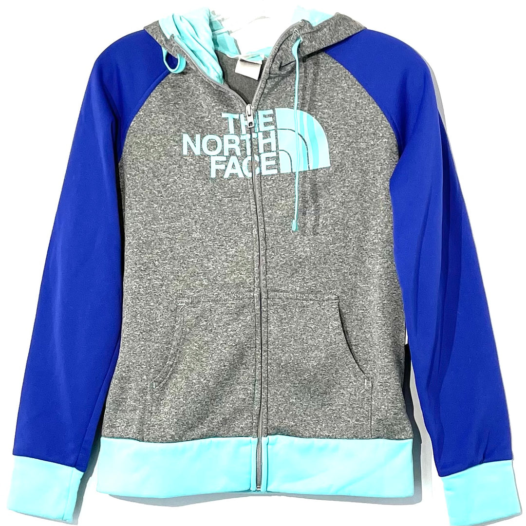Primary Photo - <P>BRAND: NORTHFACE <BR>STYLE: ATHLETIC TOP <BR>COLOR: BLUE GREEN <BR>SIZE: S <BR>SKU: 262-26275-75343</P> <P>GENTLEST PILLING IN HOODIE AS IS</P>
