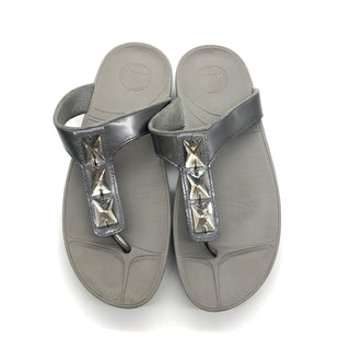 Primary Photo - BRAND: FITFLOP STYLE: SANDALS FLAT COLOR: GREY SIZE: 8 SKU: 262-262101-2689GENTLE WEAR - AS IS