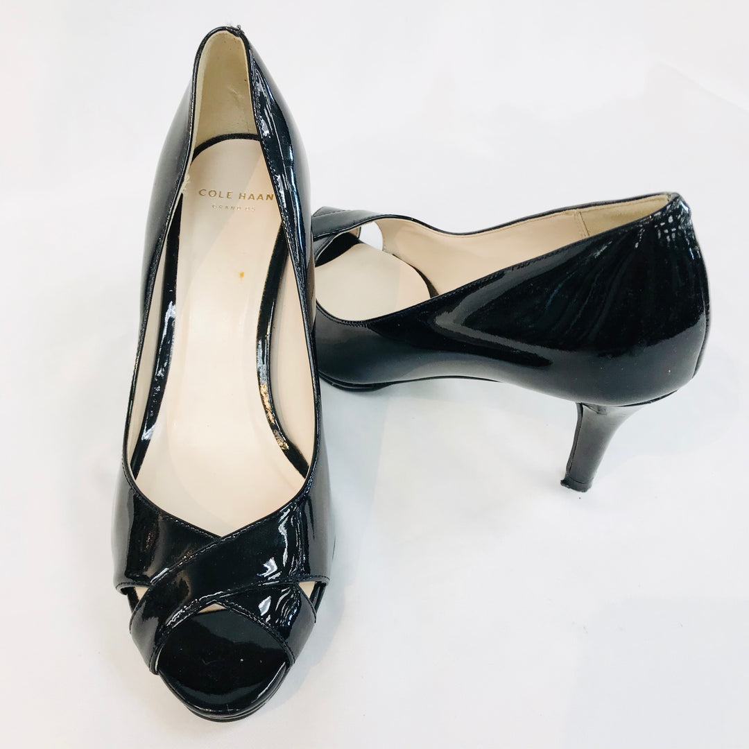 Photo #1 - BRAND: COLE-HAAN O <BR>STYLE: SHOES LOW<BR>COLOR: BLACK <BR>SIZE: 6 <BR>SKU: 262-26241-36246<BR>AS IS