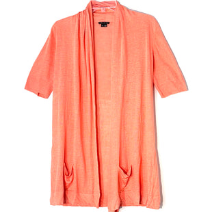 Primary Photo - BRAND: THEORY STYLE: SWEATER CARDIGAN LIGHTWEIGHT COLOR: ORANGE SIZE: L SKU: 262-26241-46918
