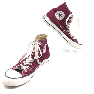 Primary Photo - BRAND: CONVERSE STYLE: SHOES ATHLETIC COLOR: MAROON SIZE: 8.5 SKU: 262-26211-144505SOME SLIGHT SPOTS TO BOTTOM