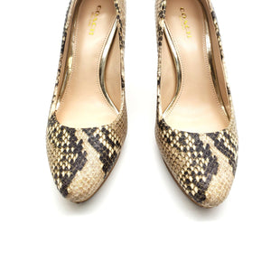Primary Photo - BRAND: COACH STYLE: SHOES LOW HEEL COLOR: SNAKESKIN PRINT SIZE: 6 SKU: 262-26275-63852AS IS DESIGNER ITEM FINAL SALE