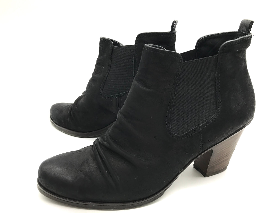 Photo #2 - BRAND: PAUL GREEN<BR>STYLE: BOOTS ANKLE <BR>COLOR: BLACK <BR>SIZE: 8 <BR>SKU: 262-262101-969<BR>AS IS