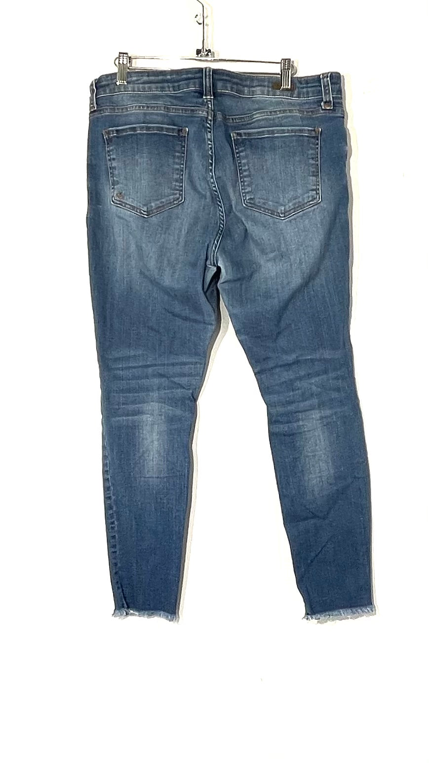 Photo #1 - BRAND: KUT <BR>STYLE: JEANS <BR>COLOR: DENIM <BR>SIZE: 12 <BR>SKU: 262-26275-73209<BR>CONNIE ANKLE SKINNY