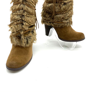 Primary Photo - BRAND: NAUGHTY MONKEY STYLE: BOOTS ANKLE COLOR: BROWN SIZE: 7.5 SKU: 262-26275-68412