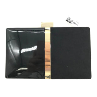 "Primary Photo - BRAND: ALDO STYLE: CLUTCH COLOR: BLACK SKU: 262-26275-72980AS IS APPROX 8""X1""X5"""