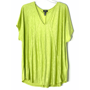 Primary Photo - BRAND: JONES NEW YORK STYLE: TOP SHORT SLEEVE COLOR: LIME GREEN SIZE: 2X SKU: 262-26241-47538