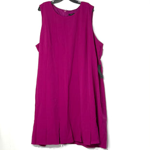 Primary Photo - BRAND: LANE BRYANT STYLE: DRESS SHORT SLEEVELESS COLOR: FUSCHIA SIZE: 28 SKU: 262-26275-77474