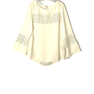 Primary Photo - BRAND: CHICOS STYLE: BLOUSE COLOR: IVORY SIZE: XL /3SKU: 262-26211-145282
