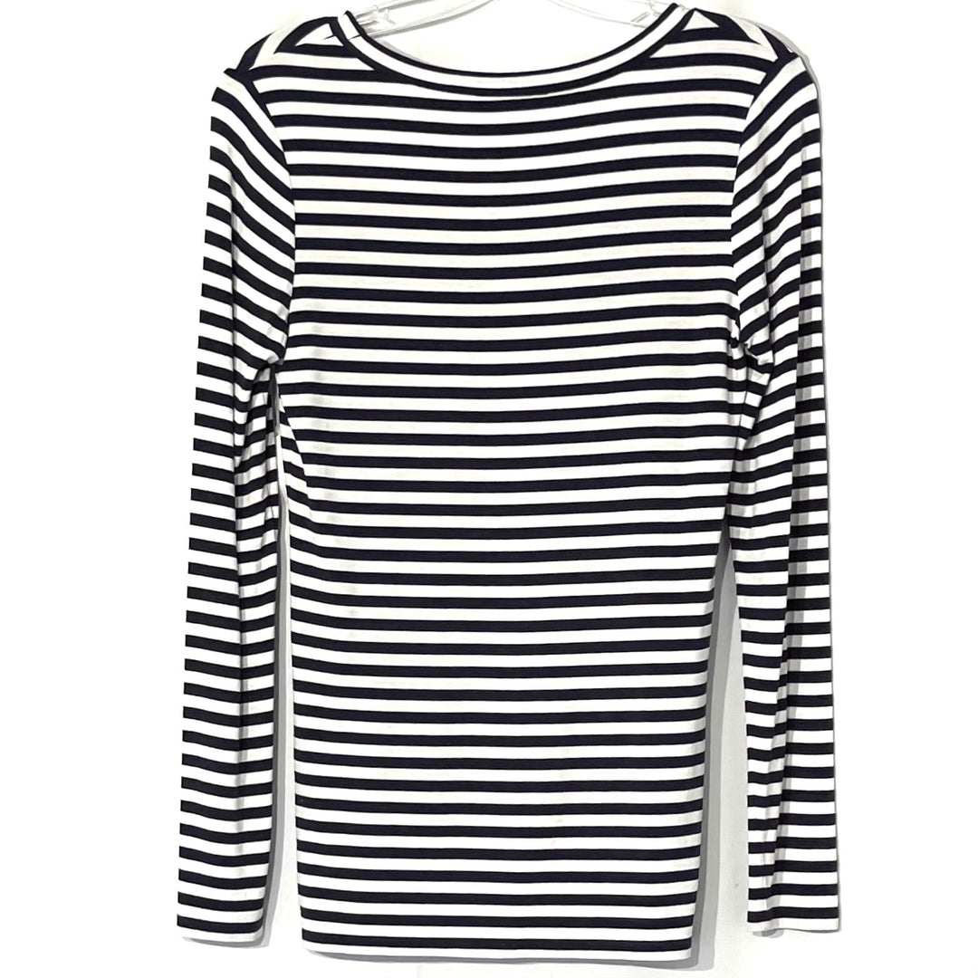Photo #1 - BRAND: NORDSTROM <BR>STYLE: TOP LONG SLEEVE <BR>COLOR: STRIPED <BR>SIZE: S <BR>SKU: 262-26211-138907<BR>95% VISCOSE<BR>5% SPANDEX <BR>STRETCHY!