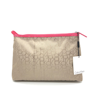 Primary Photo - BRAND: CALVIN KLEIN STYLE: CLUTCH COLOR: BEIGE SKU: 262-26275-75320