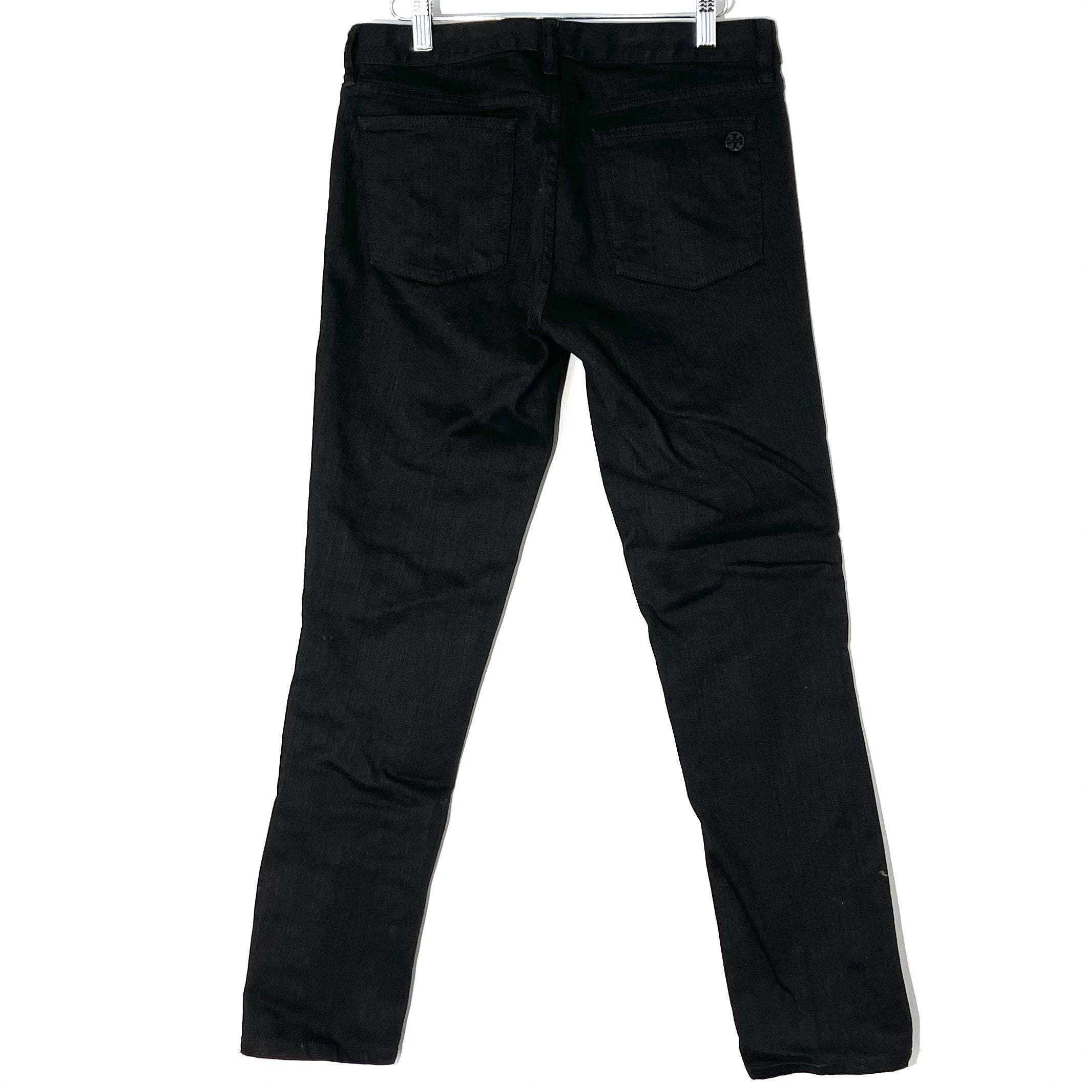 Photo #1 - BRAND: TORY BURCH <BR>STYLE: JEANS <BR>COLOR: BLACK DENIM <BR>SIZE: 8 /29<BR>SKU: 262-26241-46907