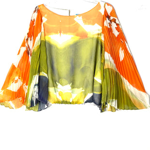 Primary Photo - BRAND: ALICE AND OLIVIA STYLE: BLOUSE COLOR: ORANGE GREENSIZE: S SKU: 262-26241-46899DESIGNER FINAL