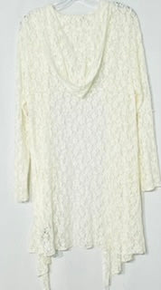 Photo #1 - BRAND: ONE WORLD <BR>STYLE: COVER<BR>COLOR: WHITE <BR>SIZE: L <BR>SKU: 262-26275-68860