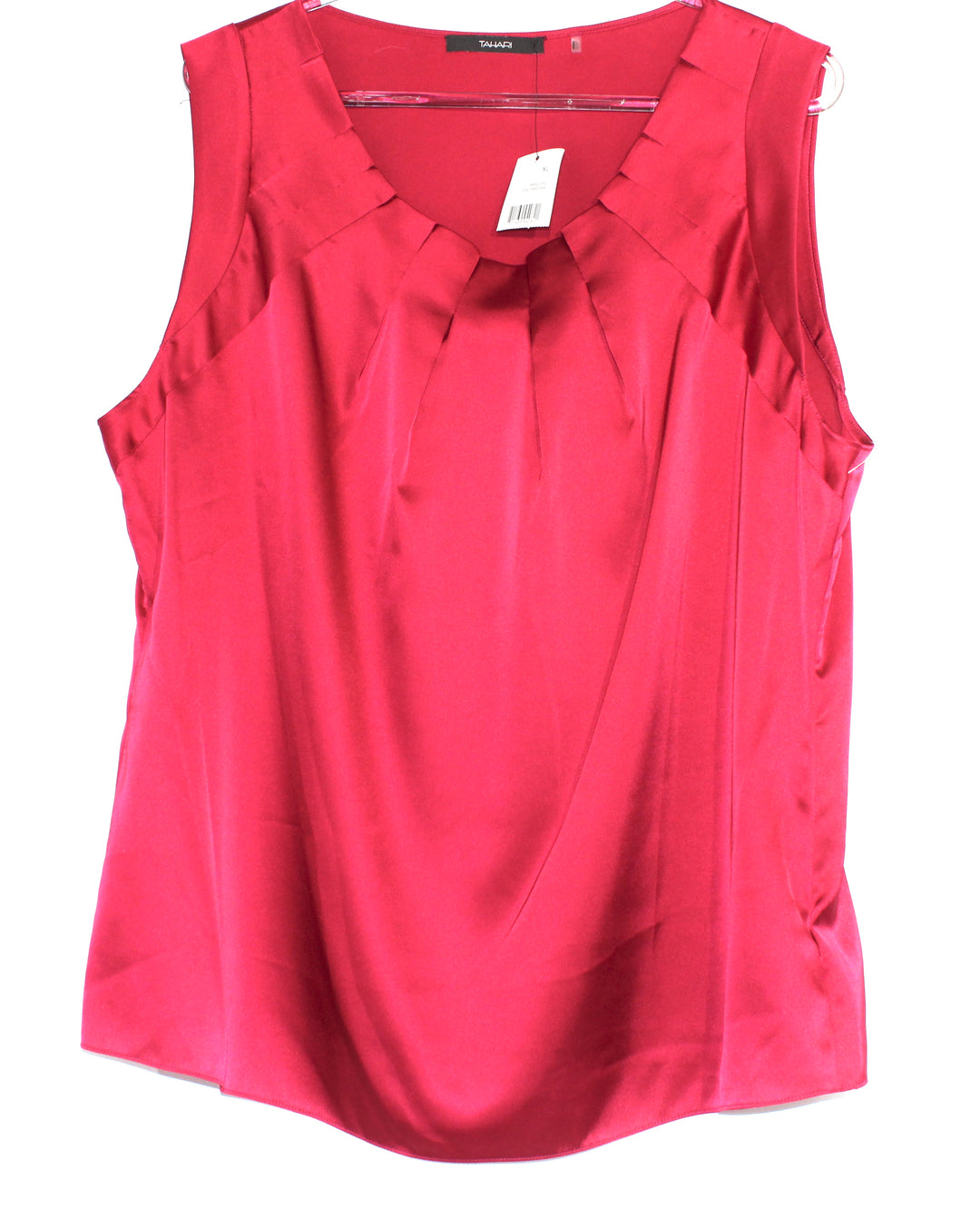 Primary Photo - BRAND: TAHARI <BR>STYLE: TOP SLEEVELESS <BR>COLOR: RED <BR>SIZE: XL <BR>SKU: 262-26211-136475<BR><BR>3% ELASTANE