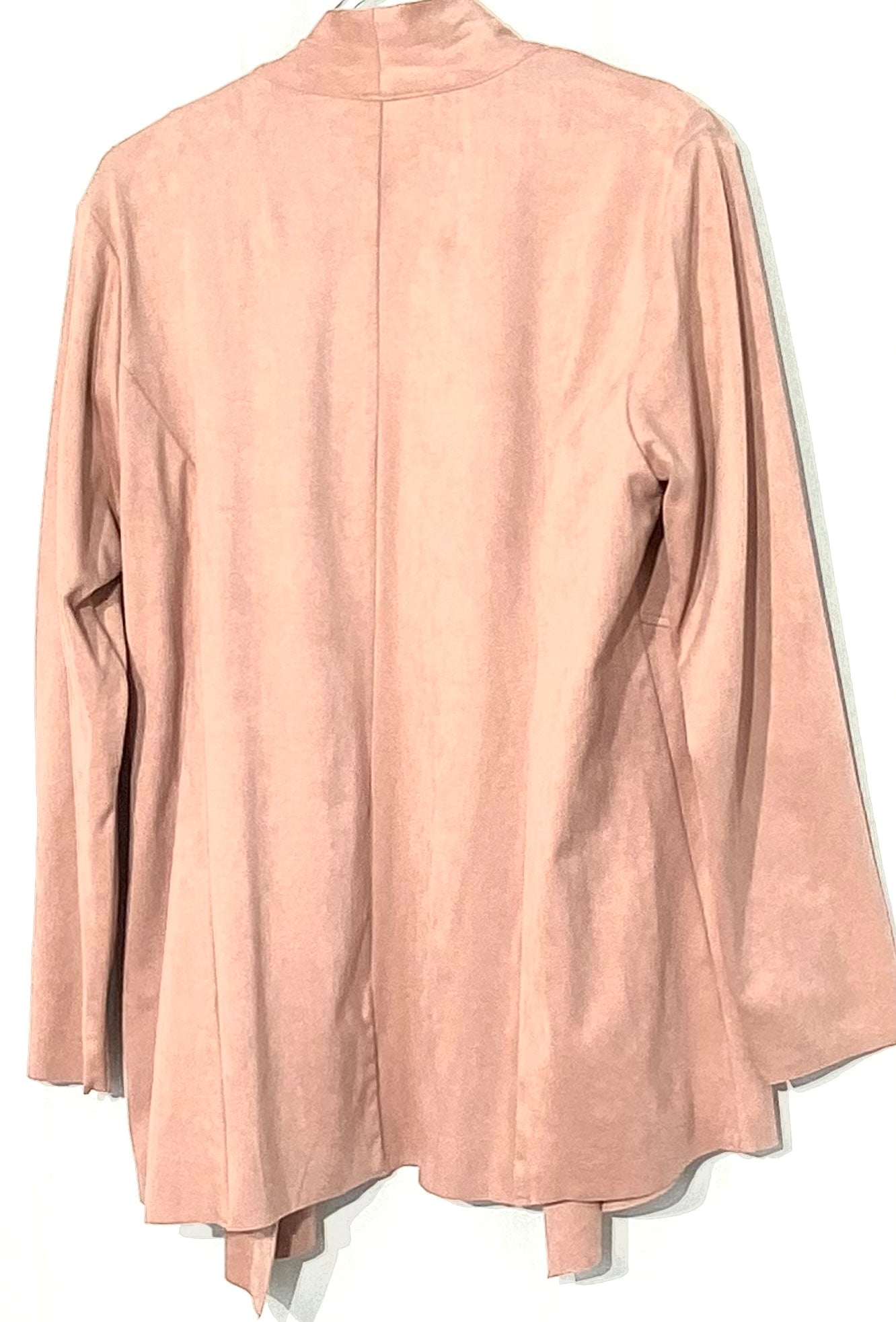 Photo #1 - BRAND: STYLE AND COMPANY <BR>STYLE: COVER LIGHTWEIGHT <BR>COLOR: LIGHT PINK <BR>SIZE: L/XL <BR>SKU: 262-26275-68728<BR>12% SPANDEX <BR>SUEDE LEATHER LOOK