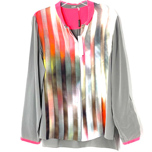 Primary Photo - BRAND: ELIE TAHARI STYLE: BLOUSE COLOR: GREY PINKSIZE: XL OTHER INFO: 100 PERCENT SILK SKU: 262-26211-144630DESIGNER FINAL