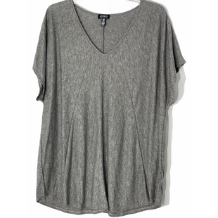 Primary Photo - BRAND: JONES NEW YORK STYLE: TOP SHORT SLEEVE COLOR: GREY SIZE: 2X SKU: 262-26241-47534