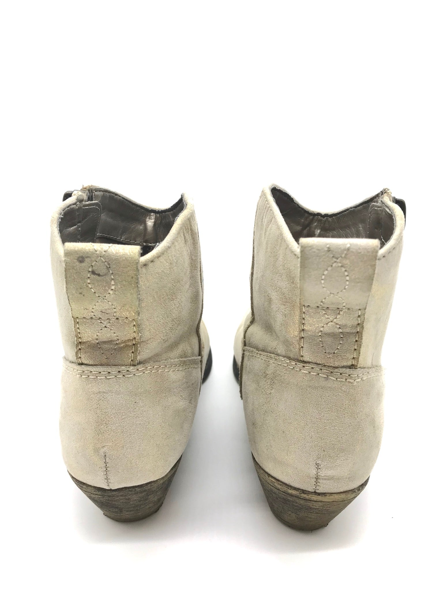 Photo #2 - BRAND: BIG BUDDAH <BR>STYLE: BOOTS ANKLE <BR>COLOR: BEIGE <BR>SIZE: 8 <BR>SKU: 262-26275-62512<BR>AS IS
