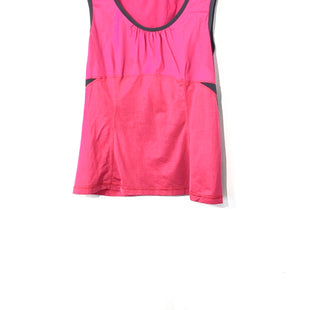 Primary Photo - BRAND: LULULEMON STYLE: ATHLETIC TANK TOP COLOR: FUSCHIA SIZE: M/LSKU: 262-26275-72175SIZE TAG MISSING AS IS DESIGNER FINAL