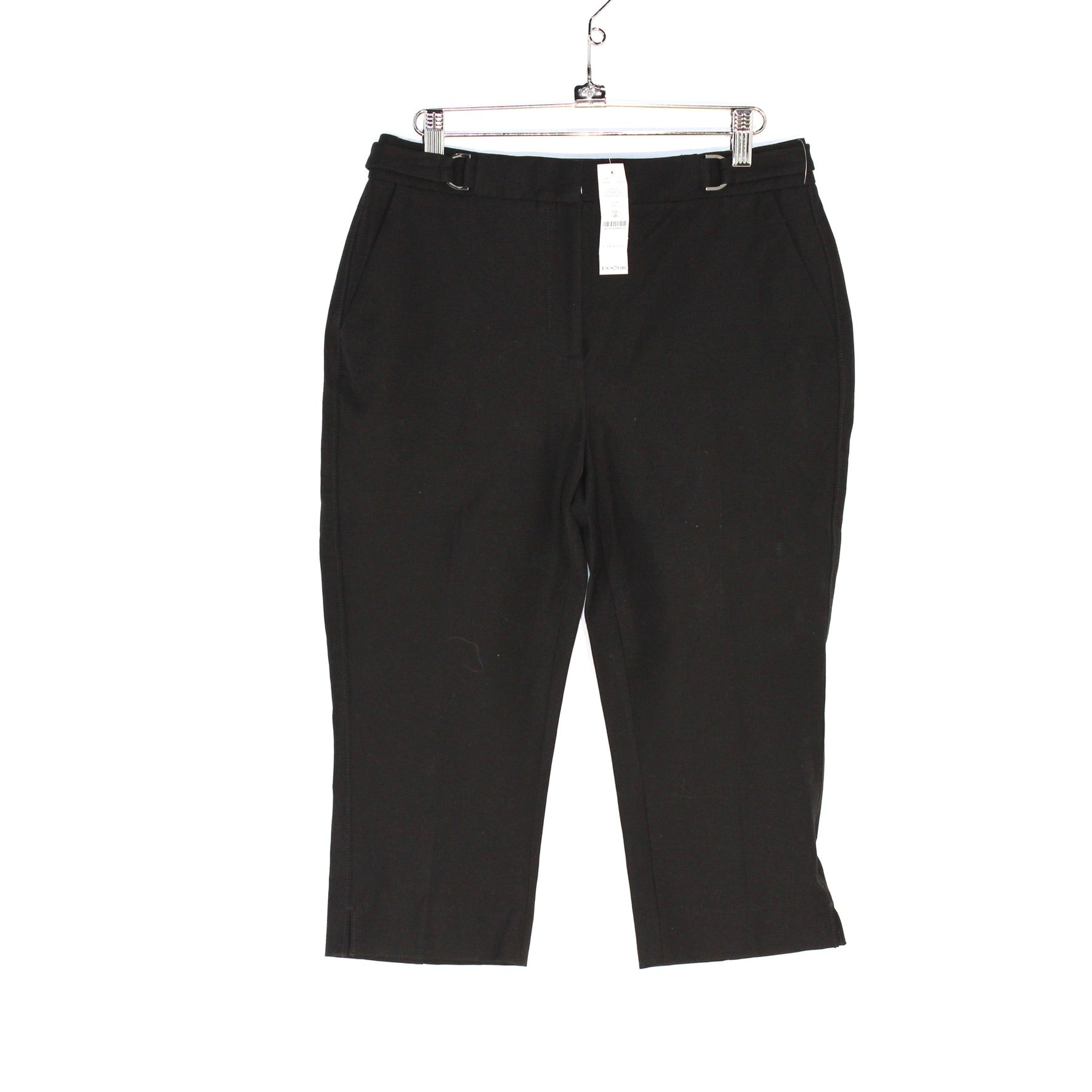 Primary Photo - BRAND: WHITE HOUSE BLACK MARKET <BR>STYLE: CAPRIS <BR>COLOR: BLACK <BR>SIZE: 4 <BR>SKU: 262-26211-138043<BR>STRAIGHT CROP