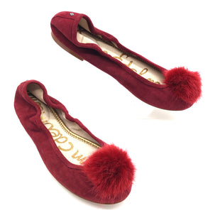 Primary Photo - BRAND: SAM EDELMAN STYLE: SHOES FLATS COLOR: MAROON SIZE: 8.5 SKU: 262-26275-74317IN EXCELLENT SHAPE AND CONDITION