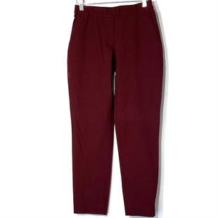 Primary Photo - BRAND: THEORY STYLE: LEGGINGS COLOR: MAROON SIZE: 00SKU: 262-262101-2881