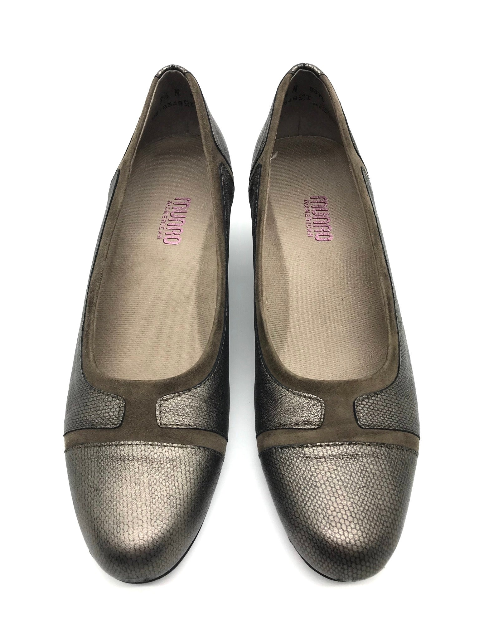 Photo #1 - BRAND:  MUNRO AMERICAN<BR>STYLE: JILLIAN LOW HEELS<BR>COLOR: TAUPE SUEDE<BR>SIZE: 9.5 <BR>SKU: 262-26275-68796<BR>IN EXCELLENT CONDITION